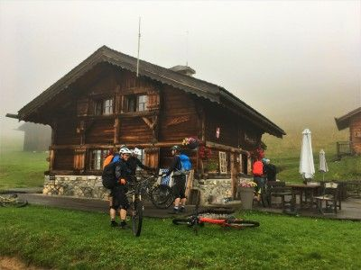 hut to hut mountain bike holiday
